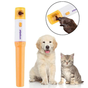 Electric Painless Pet Nail Clipper Pedicure Trimmer Grooming Kit