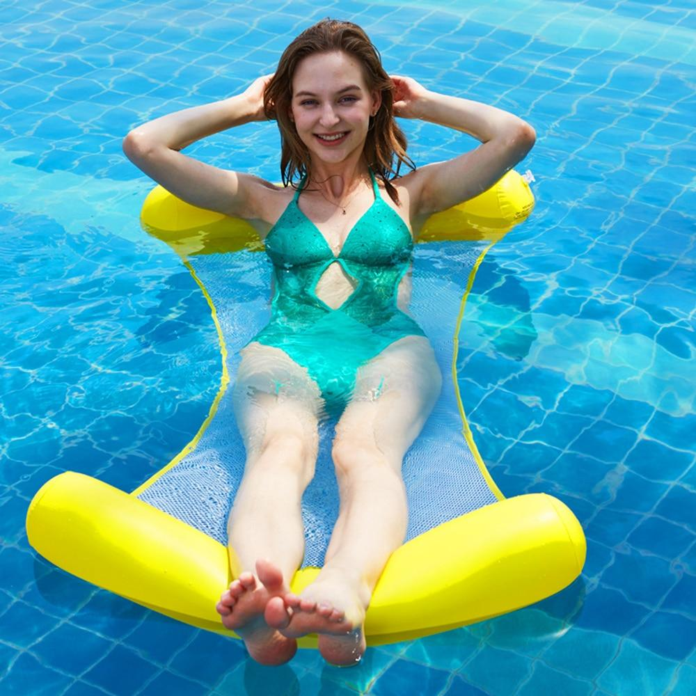 inflatable floating Swimming Mattress