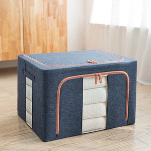 Oxford Cloth Steel Frame Storage Box