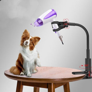 Dog Grooming Hair Dryer Stand