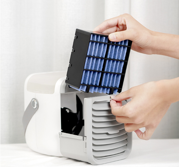 Portable air cooler fan