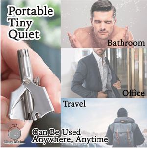 Portable Manual Nose & Ear Hair Trimmer