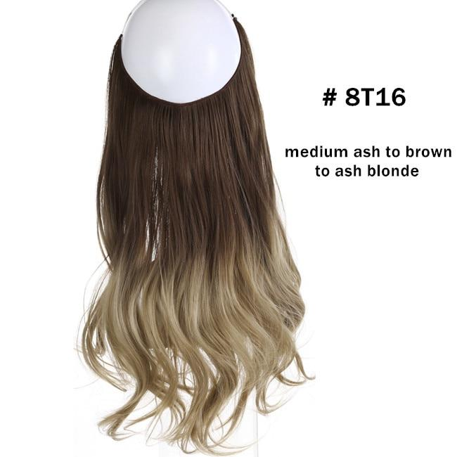 Wave Halo Invisible Wire Hair Extensions – 14″/16″/18″