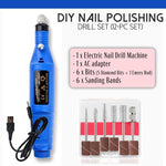 DIY Nail Polishing Drill Set (12-pc Set)
