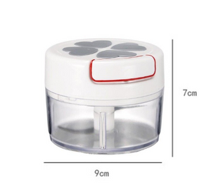 Mini Manual Food Chopper - Vegetable Fruit And Meat Chopper