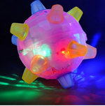 Jumping activation ball for Dogs - Creative Luminous Dancing Ball for dogs