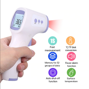 LCD Screen Digital Thermometer, Non-Contact