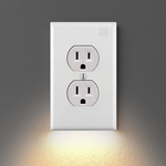 Outlet Wall Plate With LED Night Lights-No Batteries Or Wires 5 Pack