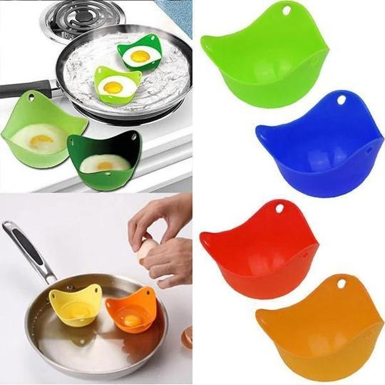 🔥Big Sale🔥Silicone Egg Poachers 5PCS