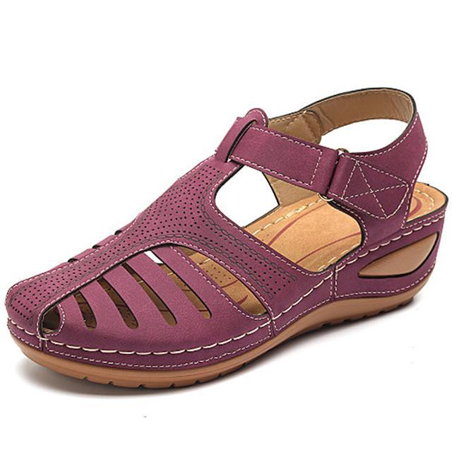 Orthopedic Premium Comfy Lightweight Leather Sandals