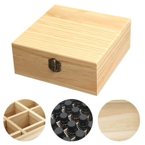 Essential Oil Wooden Treasure Case