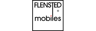 Mobiles are a traditional craft in Denmark, but the modern mobile was created in 1954 by Christian Flensted and his wife Grethe.