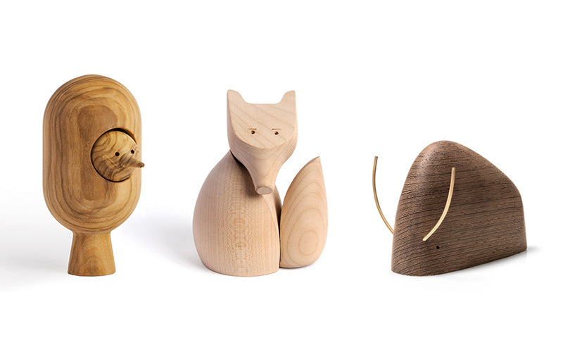 Woodyzoody's wooden animals