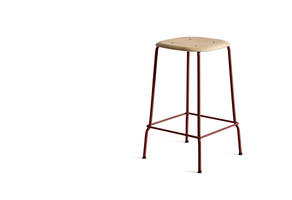 Soft Edge 30 bar stool, 2017, Iskos-berlin, Hay