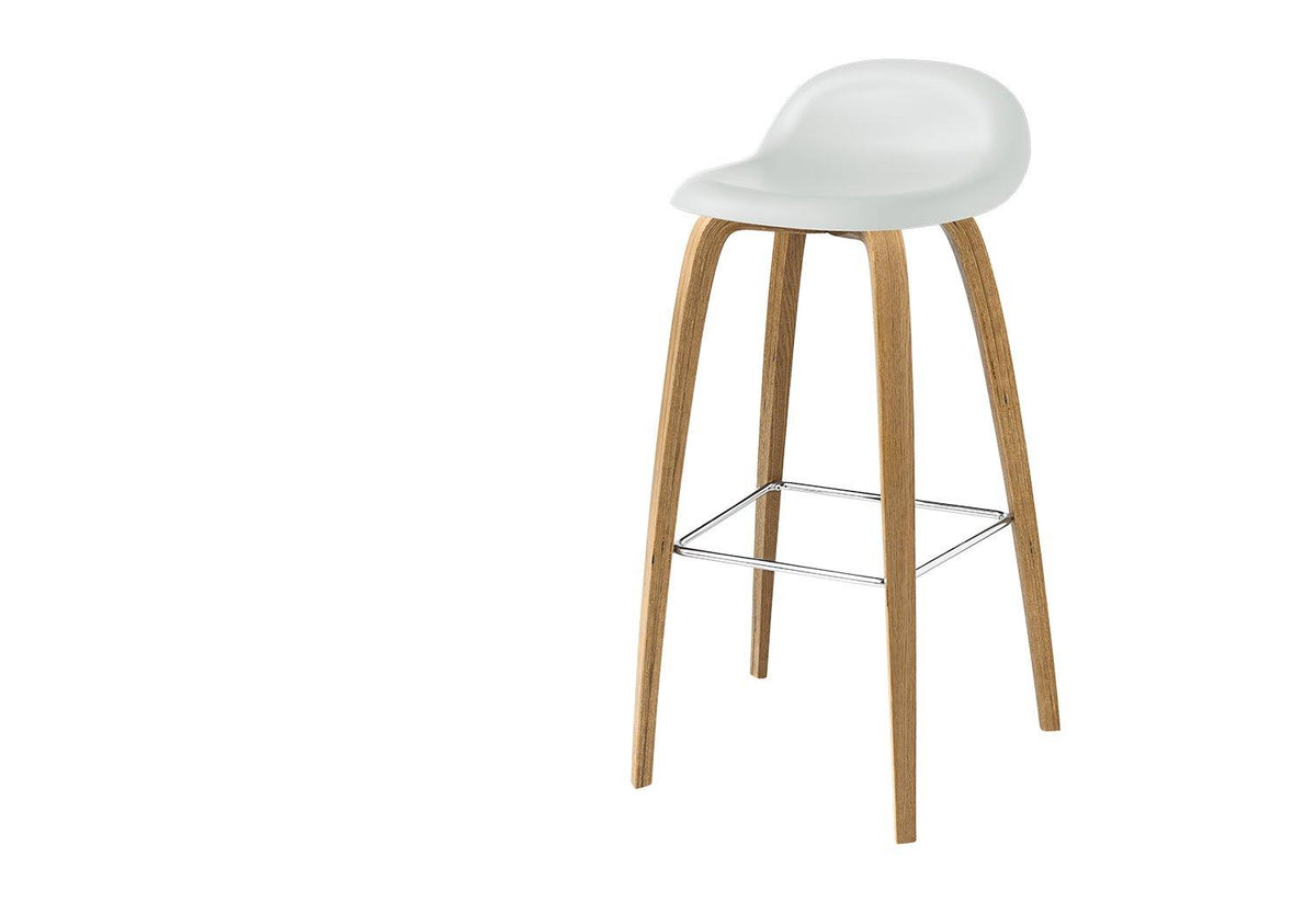 Gubi 3d stool - wooden base, 2003, Komplot design, Gubi