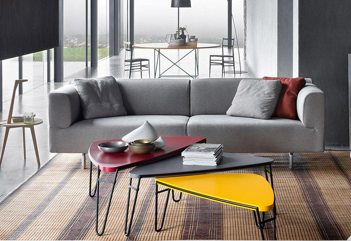 250 Met two-sofa, 1996, Piero lissoni, Cassina
