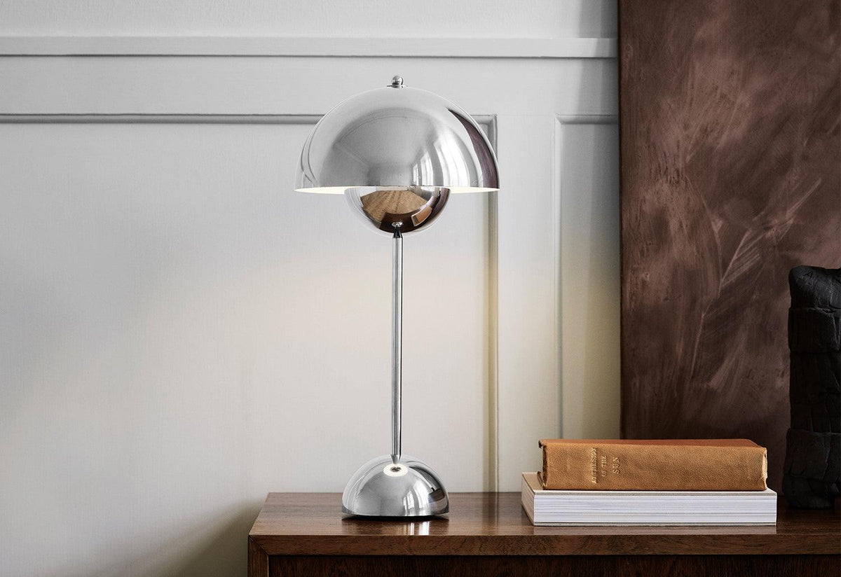 Flowerpot VP3 table lamp, Verner panton, Andtradition