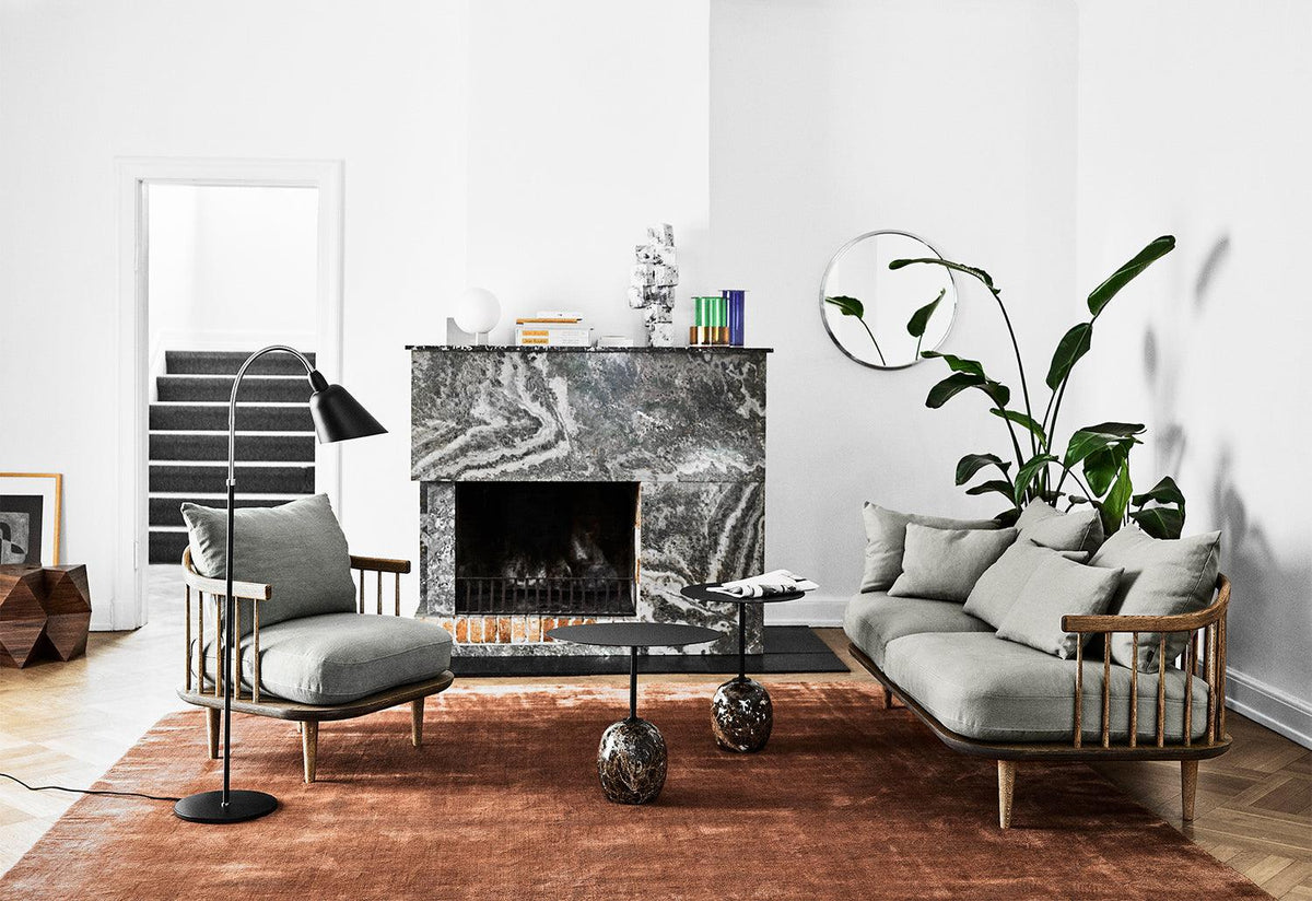 Fly two-seater sofa, Space copenhagen, Andtradition