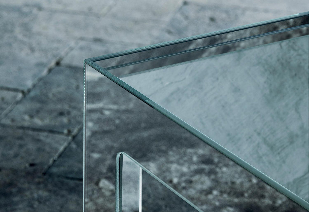 Mirror Mirror coffee table, Jasper morrison, Glas italia