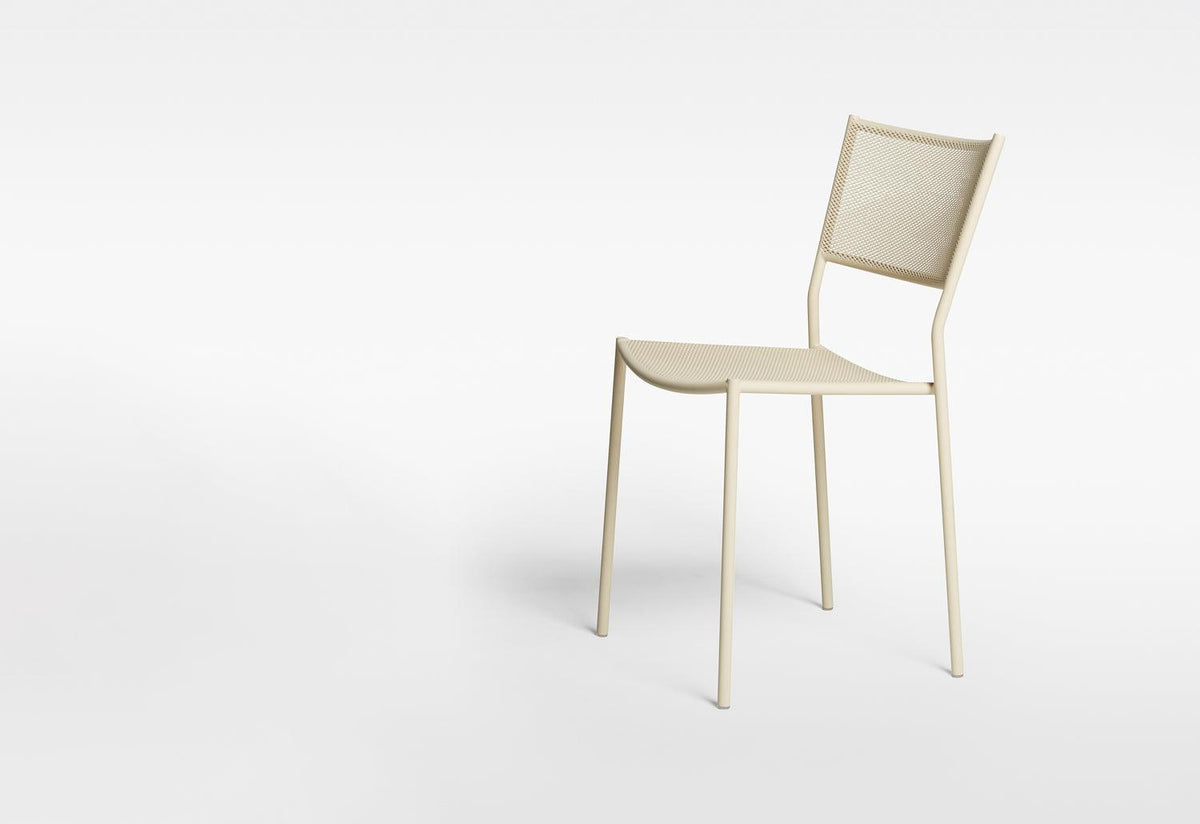 Jig Mesh outdoor side chair, 2013, Chris martin, Massproductions