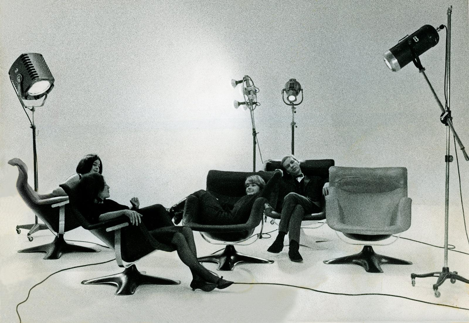 Karuselli lounge chair, 1964