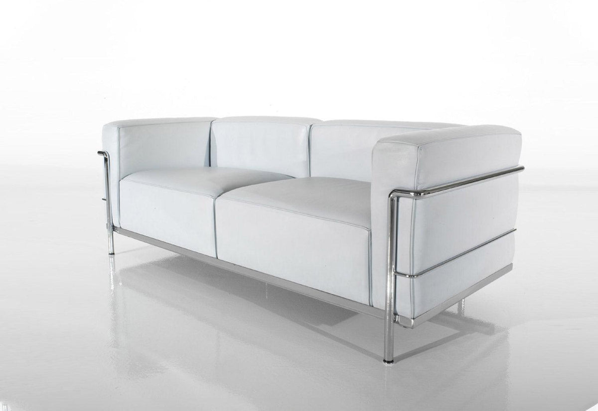 LC3 two seater, 1928, Le corbusier jeanneret perriand, Cassina