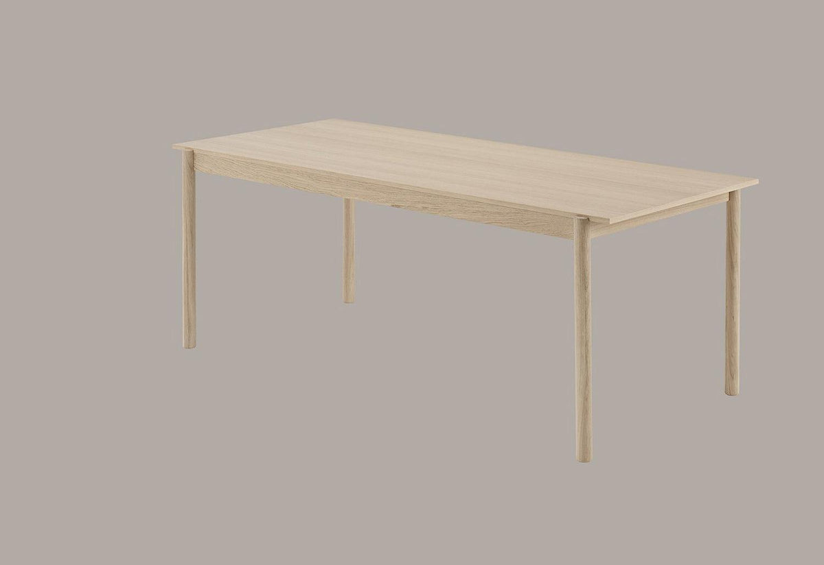 Linear wood table, Thomas bentzen, Muuto