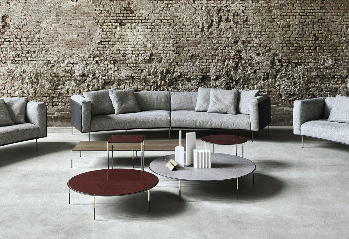 Rod Bean sofa, 2017, Piero lissoni, Living divani