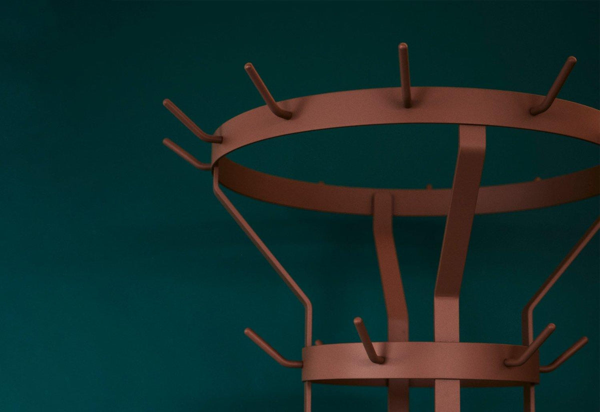 Marcel coat stand, Chris martin, Massproductions