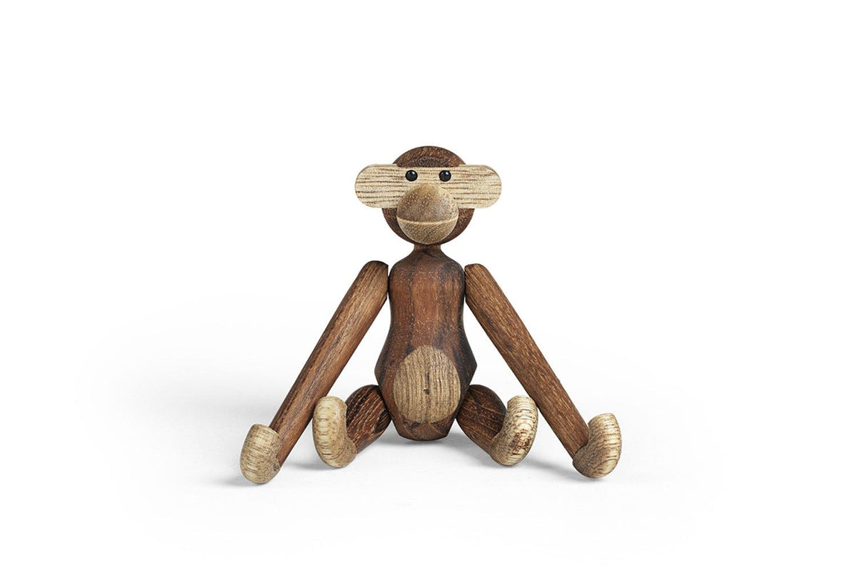 Wooden mini monkey, Kay bojesen, Rosendahl