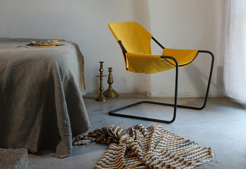 Paulistano canvas chair, 1957