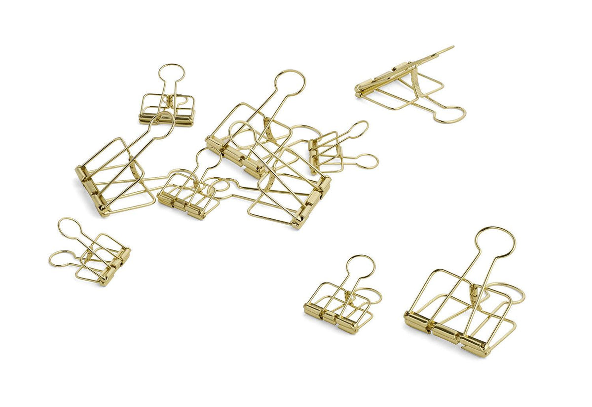 Outline paper clips, Hay studio, Hay