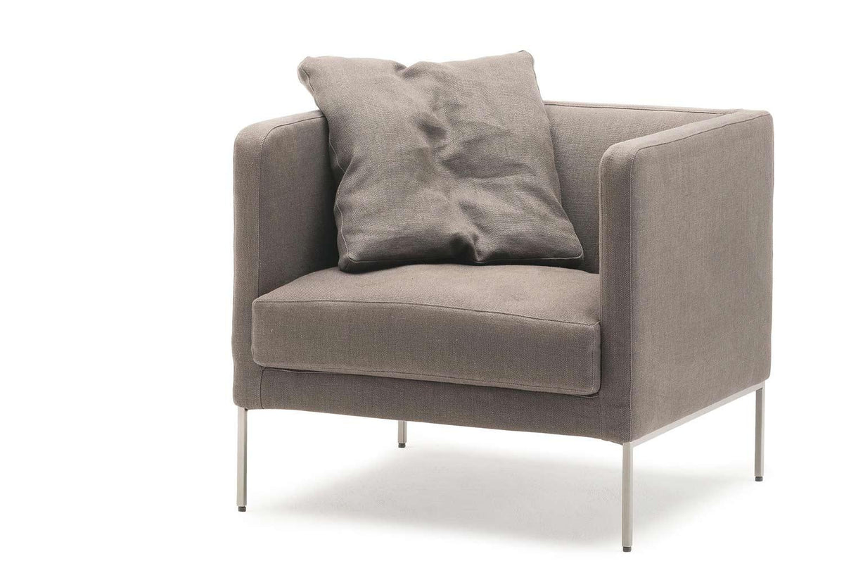 Easy Lipp armchair, 2006, Piero lissoni, Living divani