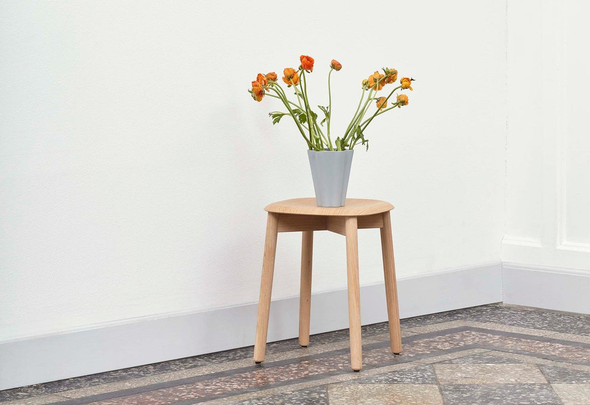 Soft Edge 72 low stool, 2017, Iskos-berlin, Hay