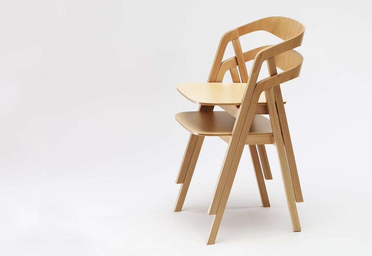 Sta stacking chair, Tomoko azumi, Zilio a and c