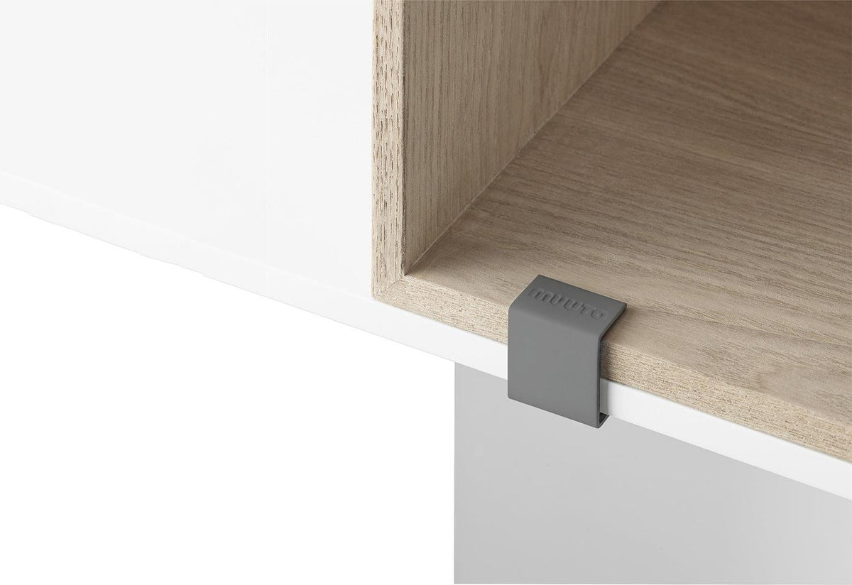 Oak Stacked 2.0 with back, Jds architects, Muuto