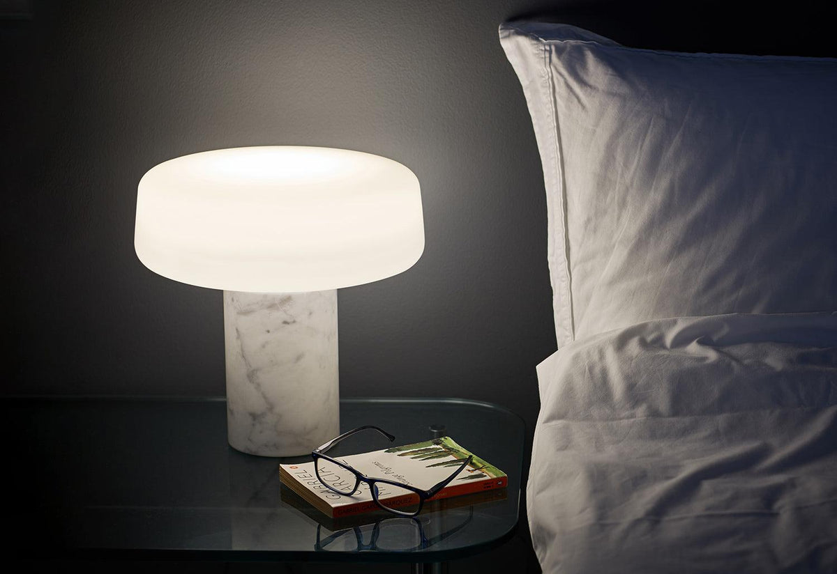 Solid table lamp, Terence woodgate, Case