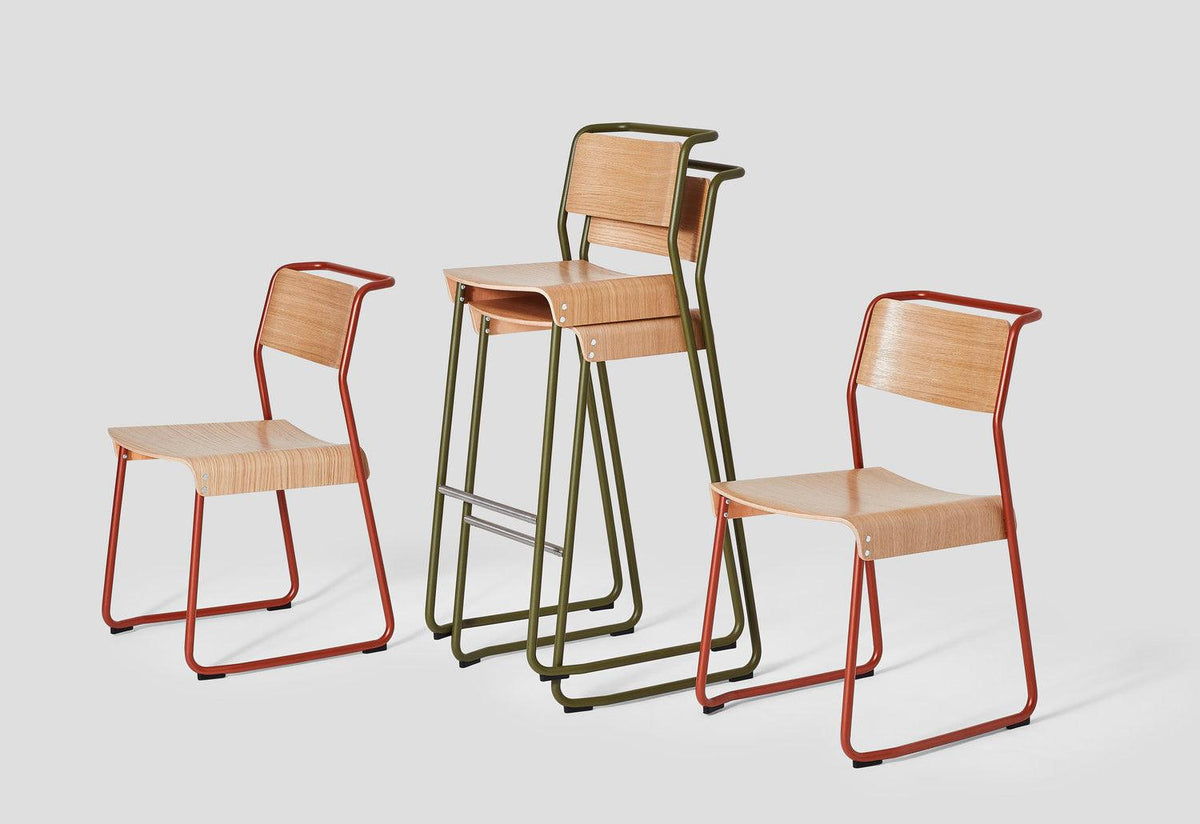 Canteen utility stool, Klauser and carpenter, Very good and proper