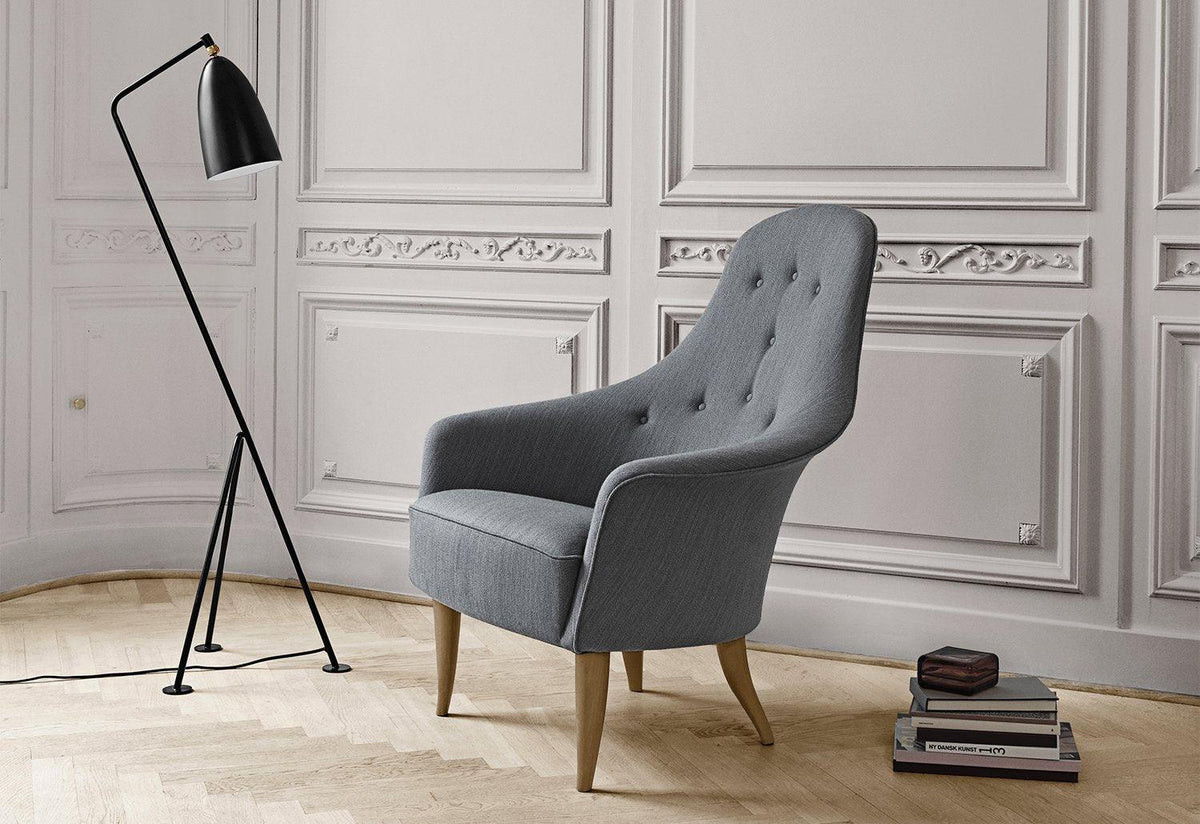 Adam lounge chair, Kerstin horlin-holmquist, Gubi
