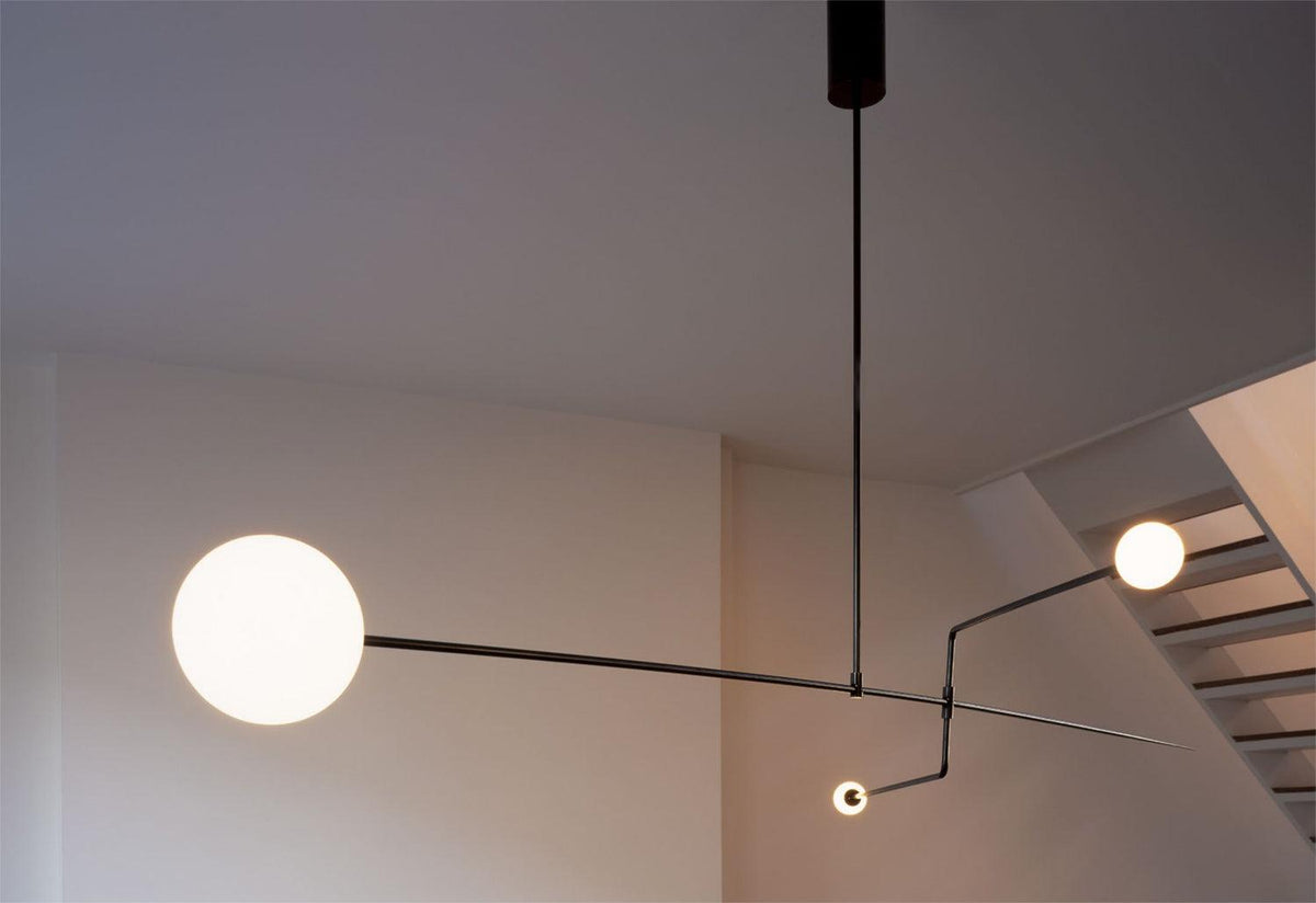 Mobile 3 chandelier, 2008, Michael anastassiades, Michael anastassiades