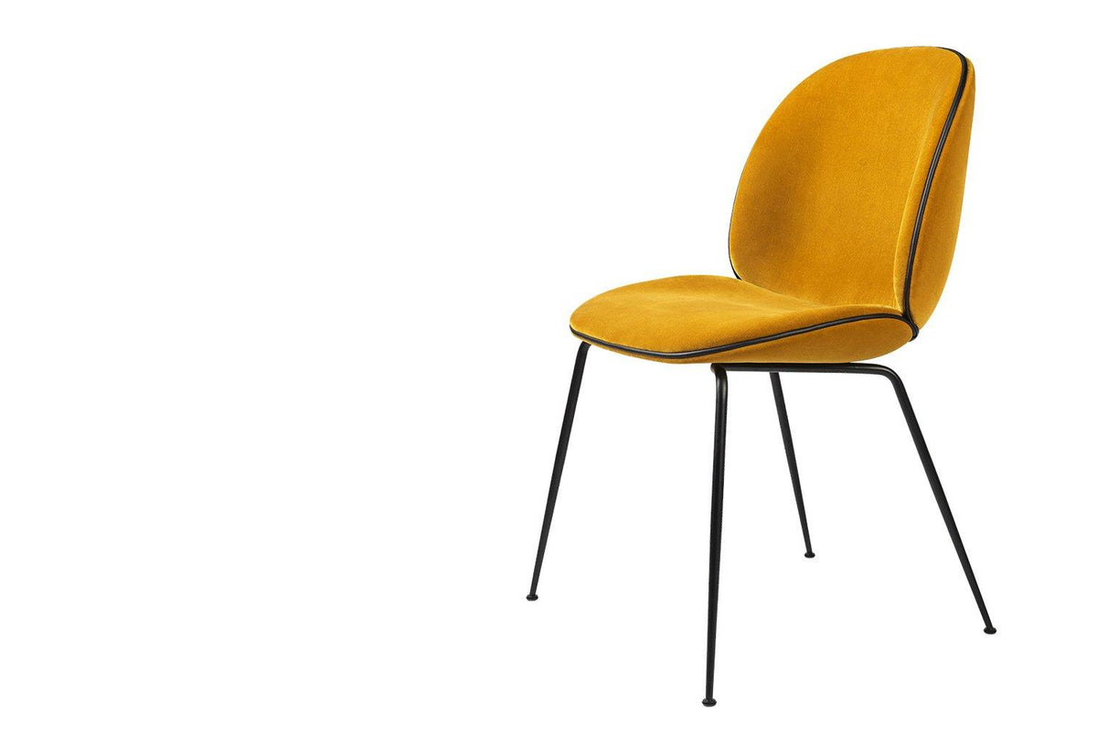 Beetle tube chair - black matt, 2017, Gamfratesi, Gubi