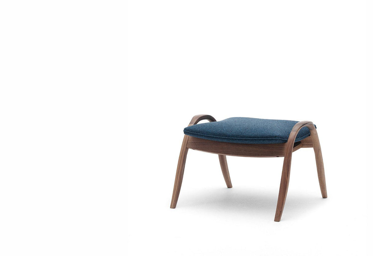 FH430 Signature footstool, 1954, Frits henningsen, Carl hansen and son