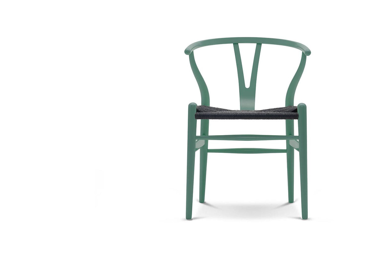 CH24 Lacquered chair, 1949, Hans wegner, Carl hansen and son