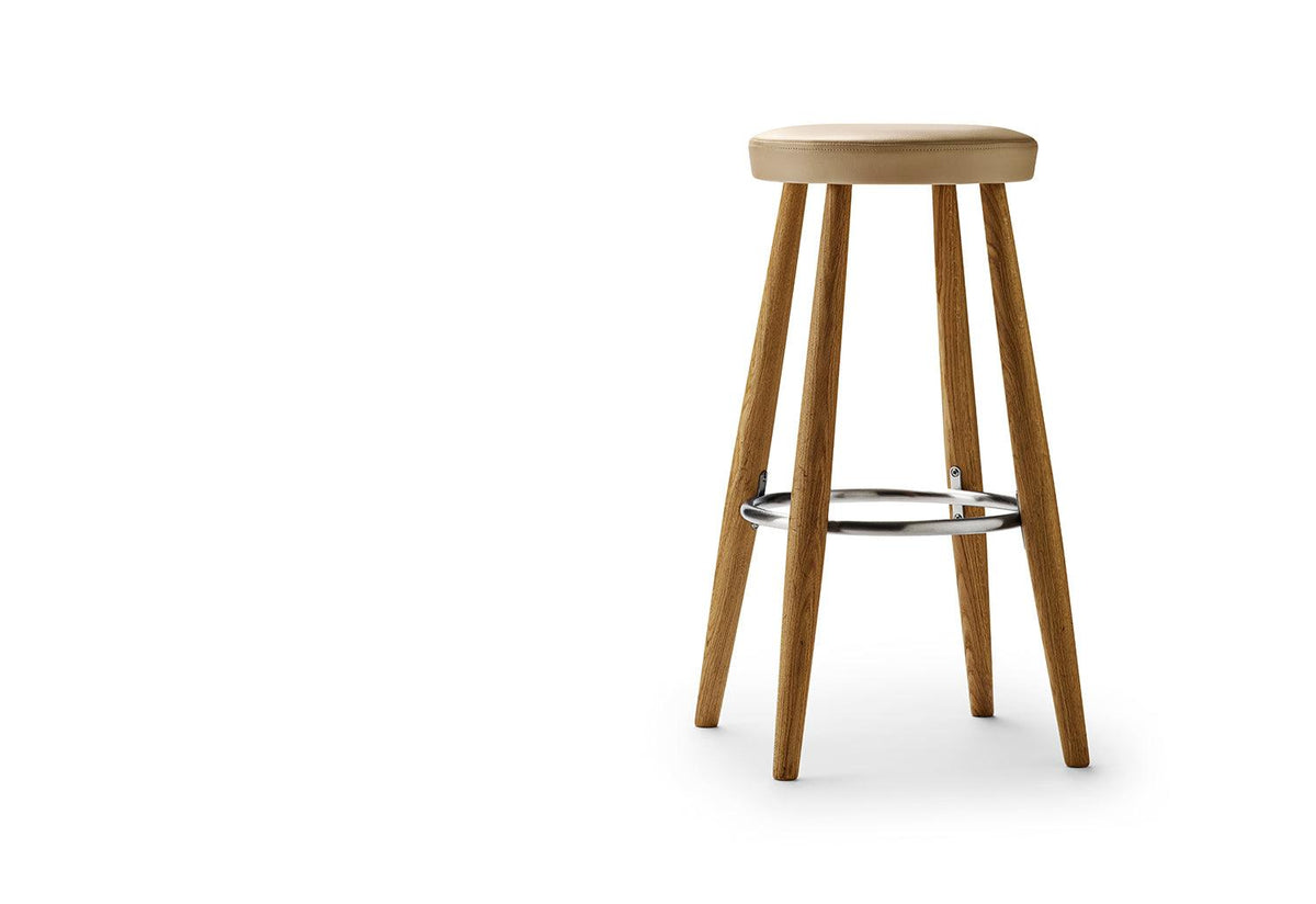 CH56/58 bar stool, 1985, Hans wegner, Carl hansen and son