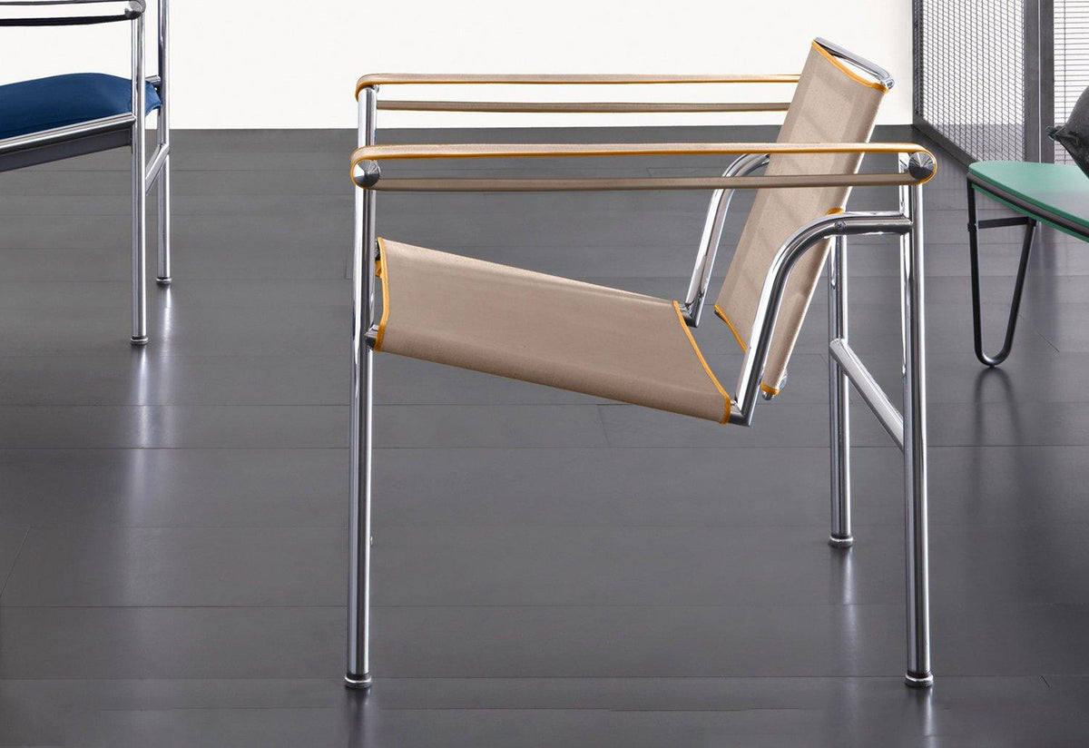 LC1 UAM chair, 1930, Le corbusier jeanneret perriand, Cassina