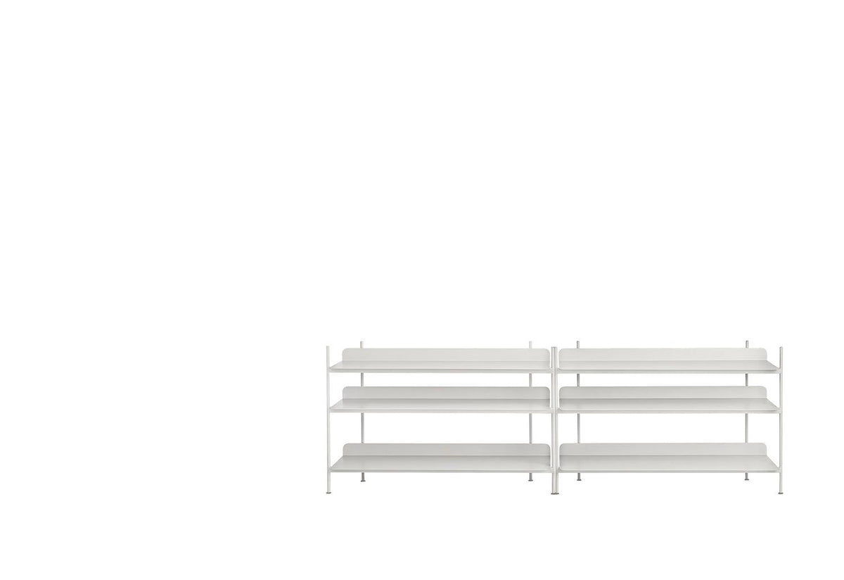 Compile shelving system, Cecilie manz, Muuto