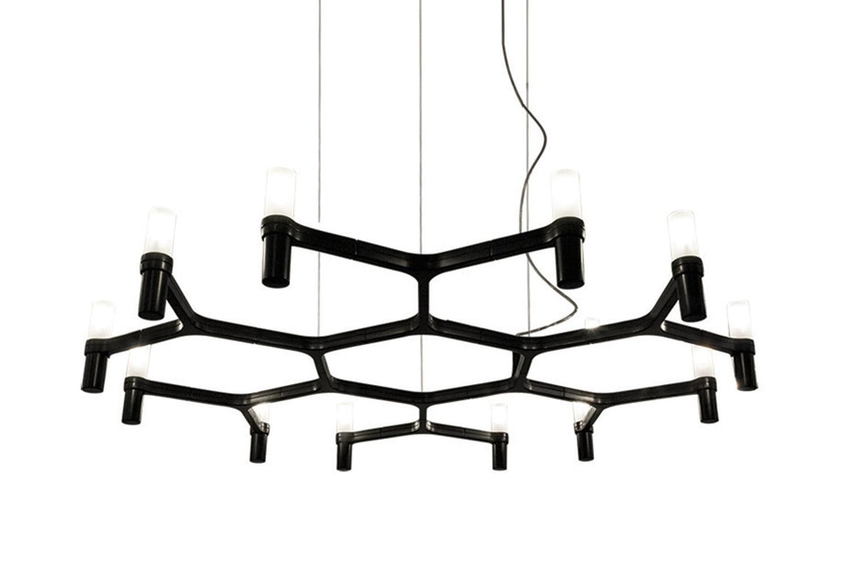 Crown Plana Minor chandelier, 2009, Markus jehs and jurgen laub, Nemo lighting