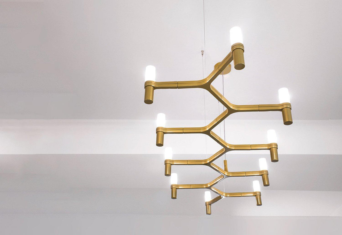 Crown Plana Linea chandelier, 2009, Markus jehs and jurgen laub, Nemo lighting