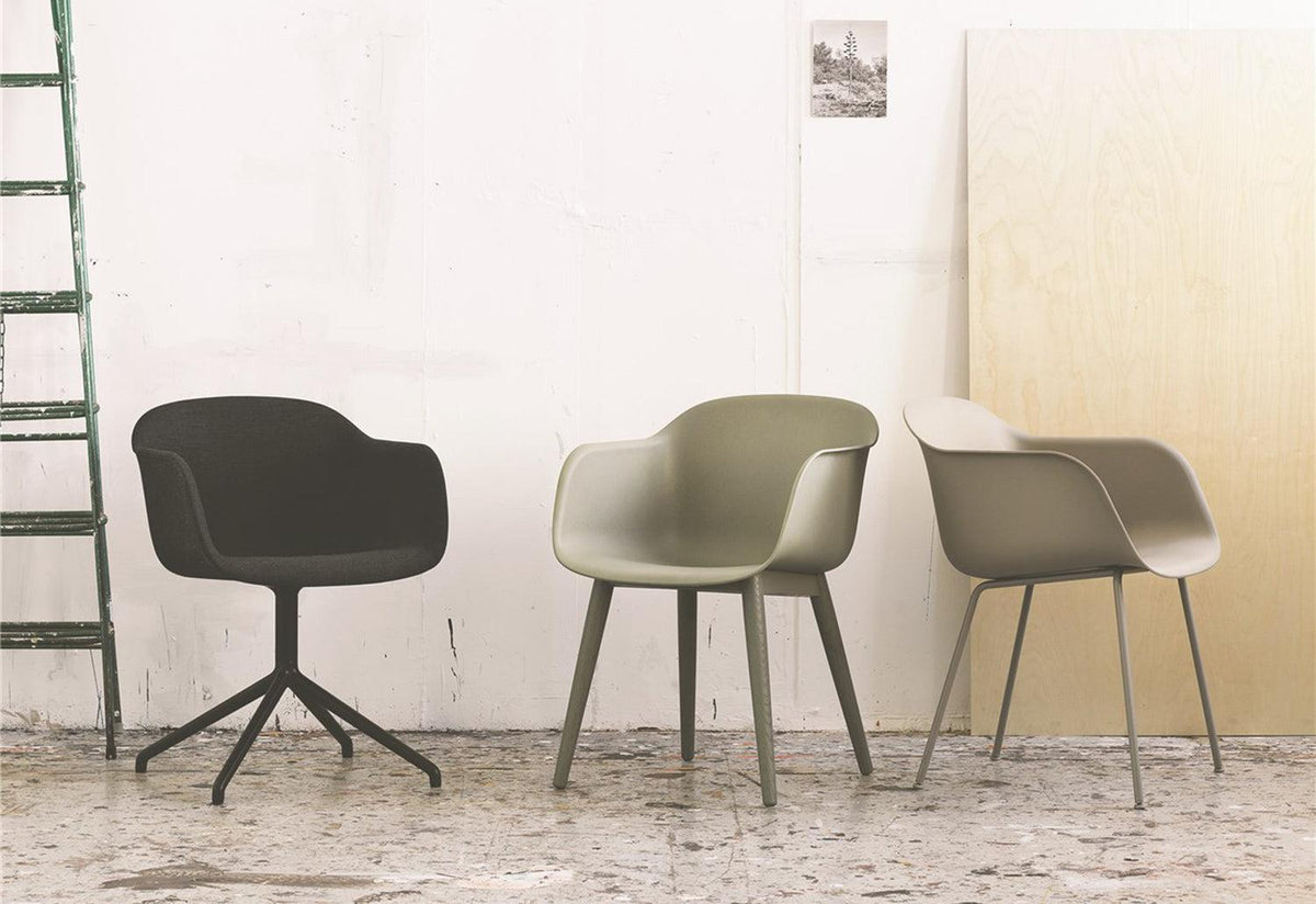 Fiber swivel - upholstered, Iskos-berlin, Muuto