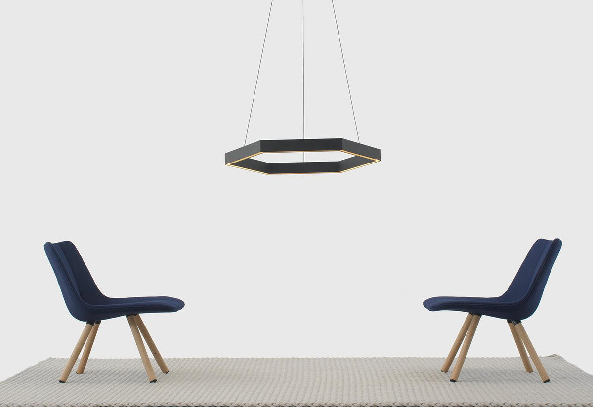 Hex 750 pendant light, 2014, Resident studio, Resident